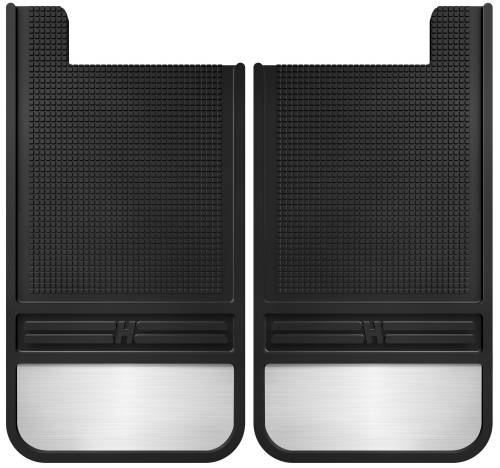 Husky Liners - Husky Liners   Rubber Rear Mud Flaps 12 Inch w/ Weight   55101