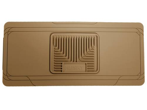 Husky Liners - Husky Liners   Heavy Duty Center Hump Floor Liner 75-10 Chevy/Toy/Mazda/GMC/Ford-Tan   53003