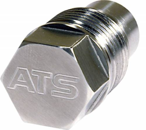 ATS Diesel Performance - ATS Diesel Performance | Drain Plug 1-Inch Dia 3/8 Hex Stainless Steel W/ Magnet | 4020091000