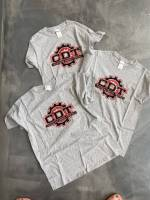 CDT Gear - T-Shirts - CDT Performance & Off-Road - Youth Grey CDT T-Shirt Old School Red and  Black