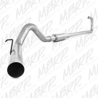"""Exhaust Systems - 4"""" Exhaust Systems - MBRP Exhaust - MBRP - S6212P 4"""" With Muffler Performance Series Turbo-Back Exhaust System"""