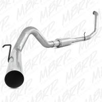 """Exhaust Systems - 4"""" Exhaust Systems - MBRP Exhaust - MBRP - S6200P 4"""" With Muffler Performance Series Turbo-Back Exhaust System"""