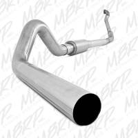 """Exhaust Systems - 4"""" Exhaust Systems - MBRP Exhaust - MBRP - S6218P 4"""" With Muffler Performance Series Turbo-Back Exhaust System"""