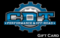 CDT Gear - Gift Cards - CDT Performance & Off-Road - CDT Gift Card