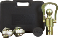 PART TYPE - Hitches & Recovery Hooks - B&W Hitches - B&W | OEM Ball and Safety Chain Kit for GM/Ford/Nissan