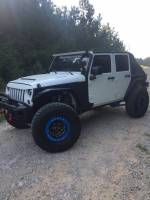 Jeep - 2007-2017 Jeep Wrangler JK - HAMMERHEAD - Jeep JK Replacement Front Flares 2007-2017