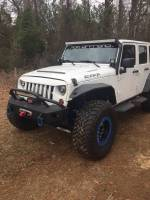 Jeep - 2007-2017 Jeep Wrangler JK - HAMMERHEAD - Jeep JK Replacement Wide Front Flares 2007-2017
