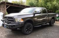Exterior Accessories - Running Boards - HAMMERHEAD - Dodge 2500-3500 Crew Cab/Cab Length Running Boards 2010-2018