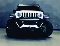 """Jeep JL Ravager Series """"Stubby"""" Pre-Runner Winch Front Bumper 2018-20XX"""