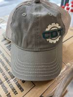 CDT Gear - Hats - CDT Performance & Off-Road - Stone and Green CDT HAT