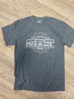 CDT Gear - T-Shirts - CDT Performance & Off-Road - Grey American Flag CDT T-Shirt