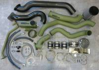 Turbos & Turbo Kits - Twin Turbo Kits - Wehrli Custom Fabrication - WCFAB | 2006-2007 LBZ Duramax S400/S300 Twin Turbo Install Kit | WCF100560