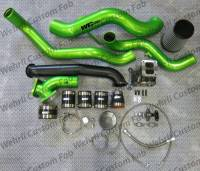 Wehrli Custom Fabrication - WC Fab | 2007.5-2010 LMM Duramax S300 Single Turbo Install Kit | WCF100484