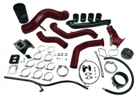 Wehrli Custom Fabrication - WC Fab | 2007.5-2010 LMM Duramax S400 Single Turbo Install Kit | WCF100495