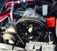 Wehrli Custom Fabrication - WC Fab | 2006-2010 LBZ/LMM Duramax Twin CP3 Kit Raw/Custom Pulley | WCF100247