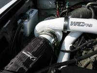 Wehrli Custom Fabrication - WC Fab | 2007.5-2010 LMM Duramax Twin Turbo Coolant Tank Kit | WCF100643
