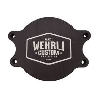 Injection Pumps - Block Off Plates - Wehrli Custom Fabrication - WCFAB | Duramax CP3 Block Off Plate | WCF100024