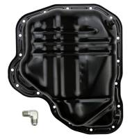 Wehrli Custom Fabrication - WC Fab | 2011-2016 LML Duramax Lower Oil Pan with Turbo Drain Fitting | WCF100385