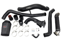 Wehrli Custom Fabrication - WC Fab | 2011-2016 LML Duramax High Flow Intake Bundle Kit (V-Band Flange Down Pipe) | WCF100716