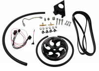 WCFAB| 2001-2004 LB7 DuramaxTwin CP3 Kit Black Anodized Pulley | WCF100231
