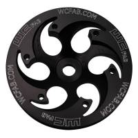Injection Pumps - Pulleys - Wehrli Custom Fabrication - WCFAB  Duramax Billet CP3 Pulley Deep Offset Anodized Black   WCF100271