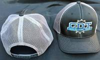 Black/Grey Richardson Snapback CDT Hat