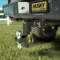 Husky Liners - Husky Liners | Adjustable Ball Mount 10 Inch Drop 2 Inch Sq Shank | 17204 - Image 2