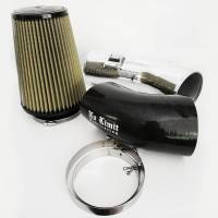 2011-2016 6.7L Powerstroke - Cold Air Intakes - No Limit Fabrication - No Limit Fabrication | 6.7 Cold Air Intake 11-16 Ford Super Duty Power Stroke Polished PG7 Filter Stage 1 | 67CAIPP1
