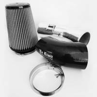 2011-2016 6.7L Powerstroke - Cold Air Intakes - No Limit Fabrication - No Limit Fabrication | 6.7 Cold Air Intake 11-16 Ford Super Duty Power Stroke Polished Dry Filter Stage 1 | 67CAIPD1