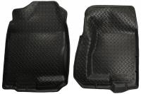 2006-2007 6.6L LBZ Duramax - Interior Accessories - Husky Liners - Husky Liners | Floor Liners Front 99-07 Cadillac/Chevy/GMC Classic Style-Black | 31301