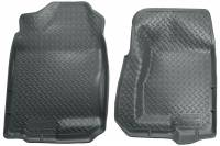 2006-2007 6.6L LBZ Duramax - Interior Accessories - Husky Liners - Husky Liners | Floor Liners Front 99-07 Cadillac/Chevy/GMC Classic Style-Grey | 31302