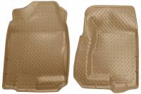 1982-2000 6.2L/6.5L Non-Duramax - Interior Accessories - Husky Liners - Husky Liners | Floor Liners Front 99-07 Cadillac/Chevy/GMC Classic Style-Tan | 31303