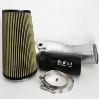 No Limit Fabrication | 6.0 Cold Air Intake 03-07 Ford Super Duty Power Stroke Raw PG7 Filter | 60CAIRP