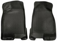 2016+ GM 2.8L Colorado/Canyon - Interior Accessories - Husky Liners - Husky Liners | Floor Liners Front 04-12 Colorado/Canyon Crew Cab Classic Style-Black | 32511