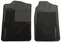 1982-2000 6.2L/6.5L Non-Duramax - Interior Accessories - Husky Liners - Husky Liners | Heavy Duty Front Floor Mats 88-00 Chevy/GMC C&K Models/Tahoe/Yukon-Black | 51011