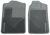 1982-2000 6.2L/6.5L Non-Duramax - Interior Accessories - Husky Liners - Husky Liners | Heavy Duty Front Floor Mats 88-00 Chevy/GMC C&K Models/Tahoe/Yukon-Grey | 51012