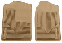 1982-2000 6.2L/6.5L Non-Duramax - Interior Accessories - Husky Liners - Husky Liners | Heavy Duty Front Floor Mats 88-00 Chevy/GMC C&K Models/Tahoe/Yukon-Tan | 51013