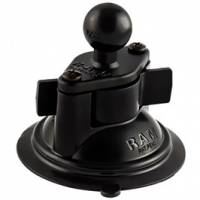 Cummins - 2007.5-2009 6.7L Cummins - sPOD - sPOD | Ram Mount Suction Cup Twist Lock Base 3.3 Inch W/1 Inch Ball | RAM-B-224-1U