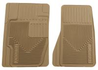 2016+ GM 2.8L Colorado/Canyon - Interior Accessories - Husky Liners - Husky Liners | Heavy Duty Front Floor Mats 02-12 Nissan/Mercury/Cadillac/Chevy/Ford/GMC/Dodge-Tan | 51123