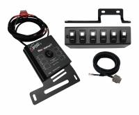 Jeep - 2018+ Jeep Wrangler JL - sPOD - sPOD | SourceLT w/ Blue LED Switch panel for JK 2009-2018 | SL-0918-JK-B
