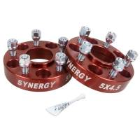 Wheels & tires - Lug Nuts & Accessories - Synergy MFG - Synergy MFG | Jeep Hub Centric Wheel Spacers 5X4.5-1.25 Inch Width 1/2-20 UNF Stud Size | 4111-5-45-H