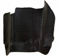 1982-2000 6.2L/6.5L Non-Duramax - Interior Accessories - Husky Liners - Husky Liners | Center Hump Floor Liner Classic 92-00 Blazer/Yukon/C Series/K Series No Console on Hump-Black | 82201