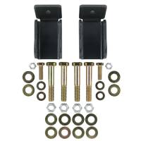 Steering & Suspension - Shock Absorbers - Synergy MFG - Synergy MFG | Jeep TJ/LJ Rear Lower Shock Relocation Bracket | 8170-01