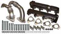 Exhaust Components - Exhaust Manifolds - ATS Diesel Performance - ATS Diesel Performance | Pulse Flow Exhaust Manifolds 2001-04 6.6L Duramax Non-Egr | 2049004248