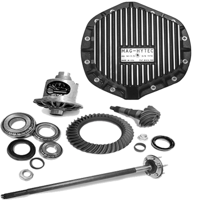Differential Components - Rear Differential