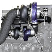 2007.5-2009 6.7L Cummins - Turbos & Turbo Kits - ATS Diesel Performance - ATS Diesel Performance | Aurora 3000/5000 Twin Turbo Kit Dodge 1998.5-2002 24V | 202A352218