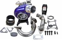 PART TYPE - Turbos & Turbo Kits - ATS Diesel Performance - ATS Diesel Performance | Aurora 3000 Turbo System W/ Tuner And Custom Tunes 2011-2014 Ford 6.7L Scorpion | 2029313368