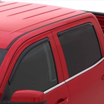 2013-2018 6.7L Cummins - Exterior Accessories - Window Deflectors