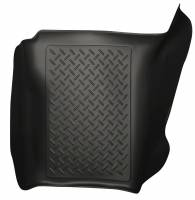 2011-2016 6.7L Powerstroke - Interior Accessories - Husky Liners - Husky Liners | Center Hump Floor Liner 11-15 Ford F Series Standard Cab No Manual Transfer Case Shifter-Black | 83681