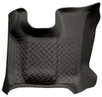 2011-2016 6.7L Powerstroke - Interior Accessories - Husky Liners - Husky Liners | Center Hump Floor Liner 11-15 Ford F Series No Manual Transfer Case Shifter-Black | 83671